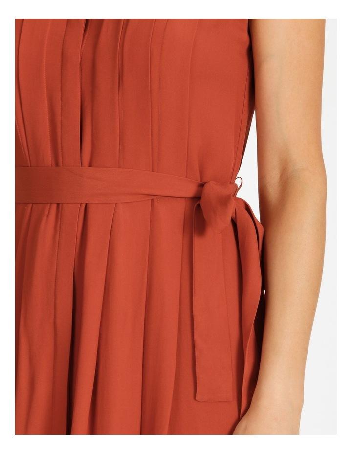 Pleated Midi Dress image 5