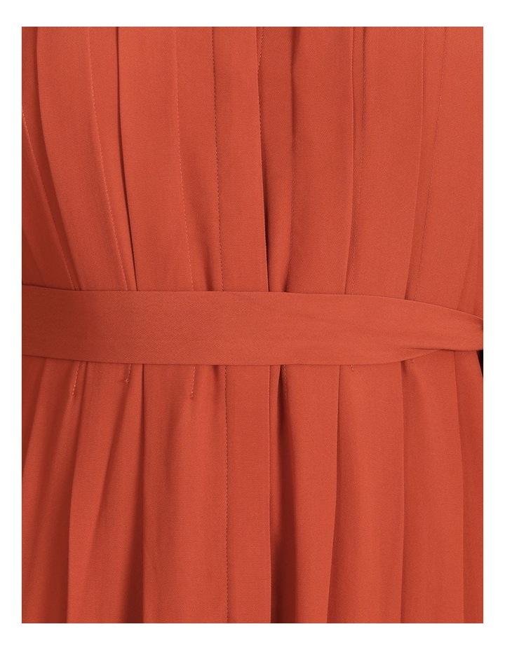 Pleated Midi Dress image 6