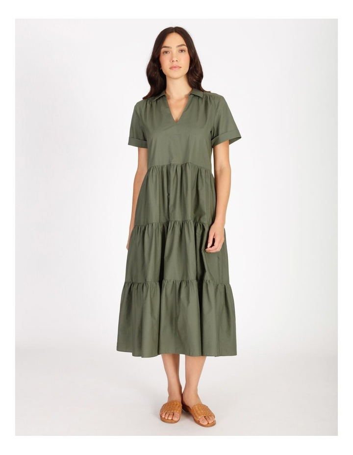 Tiered Cotton Dress image 1