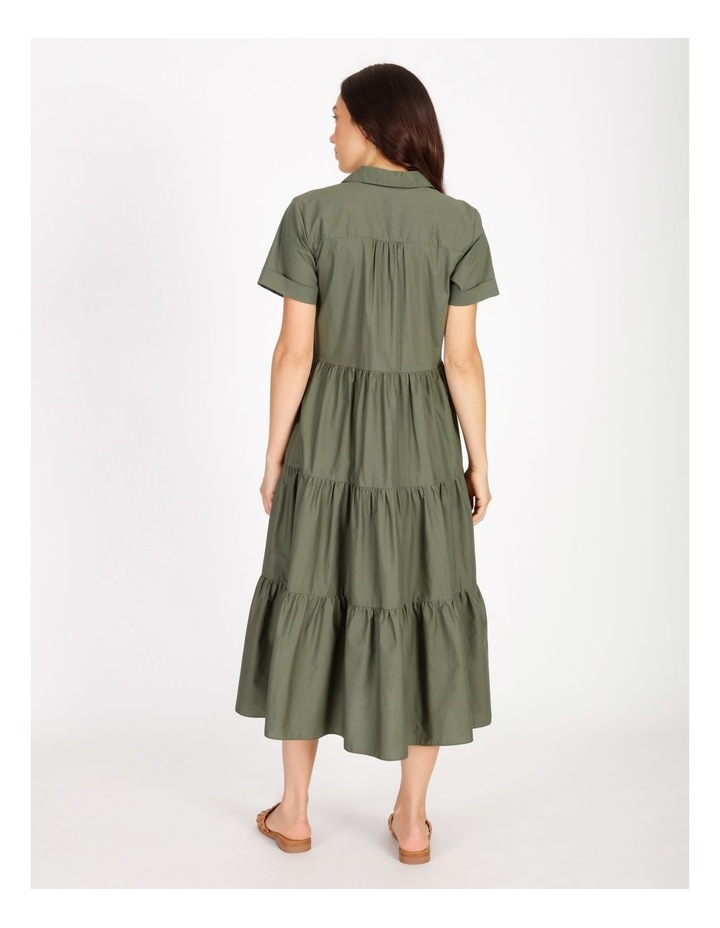 Tiered Cotton Dress image 3