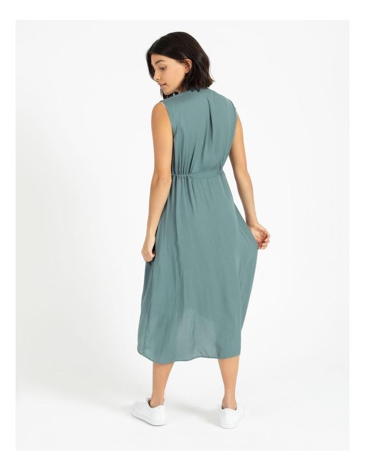 Self Tie Button Through Dress image 3