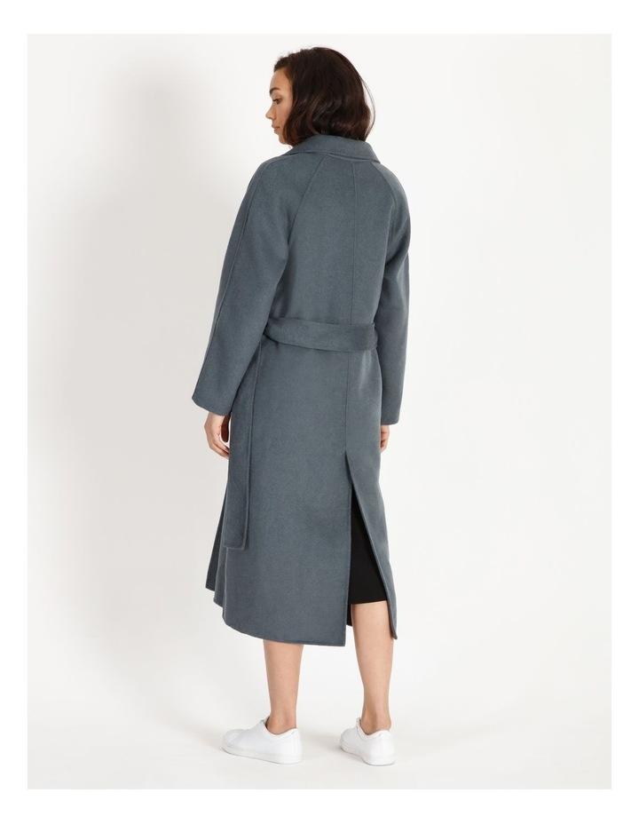Longline Wrap Self Tie Coat image 4