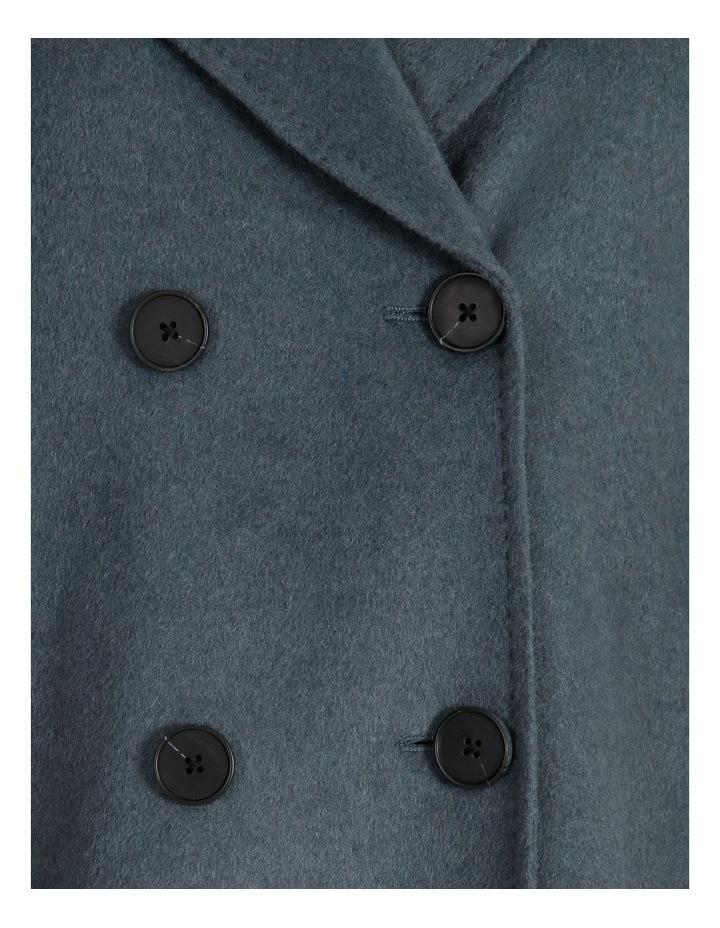 Longline Wrap Self Tie Coat image 7