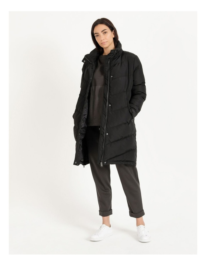 Longline Puffer Coat image 1