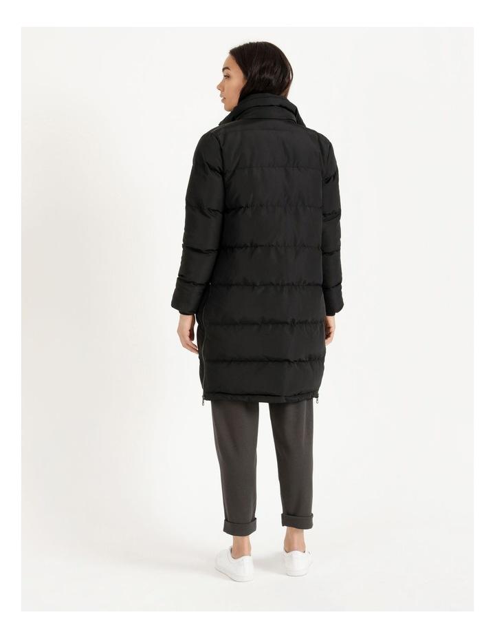 Longline Puffer Coat image 4