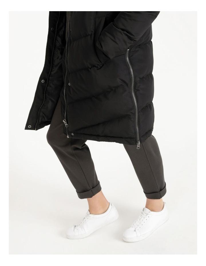 Longline Puffer Coat image 5