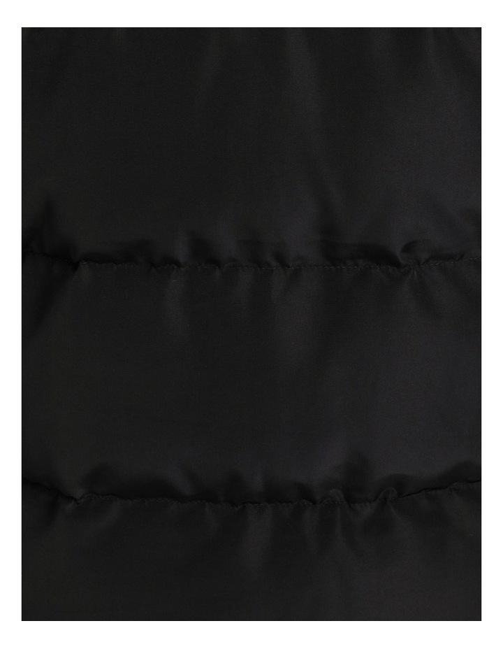 Longline Puffer Coat image 6