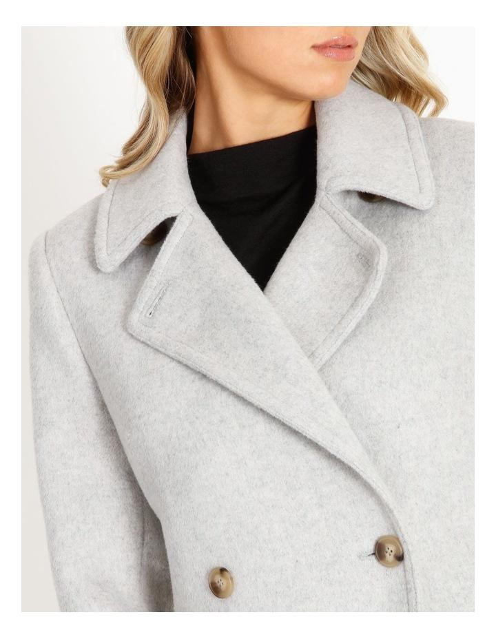 Brushed Longline Coat image 3