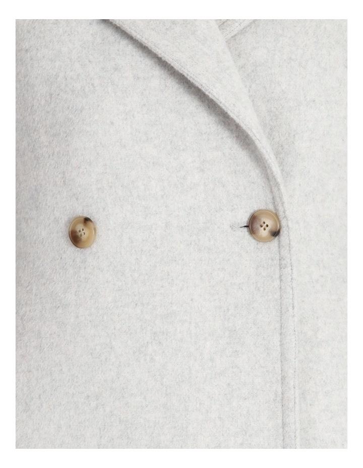 Brushed Longline Coat image 5