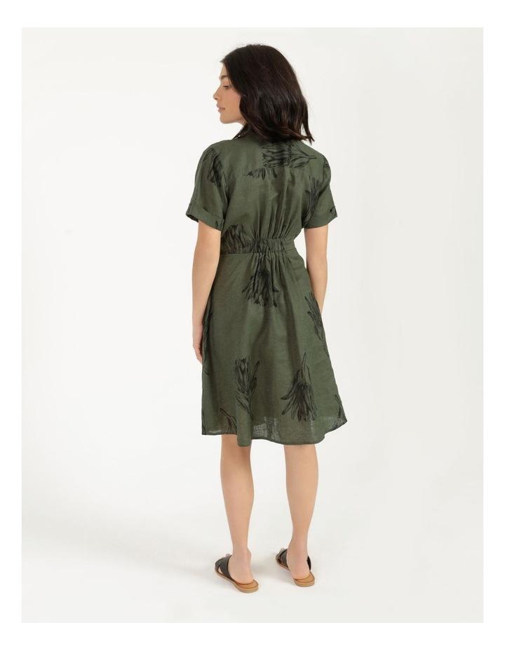 Tie Front Linen Dress image 4