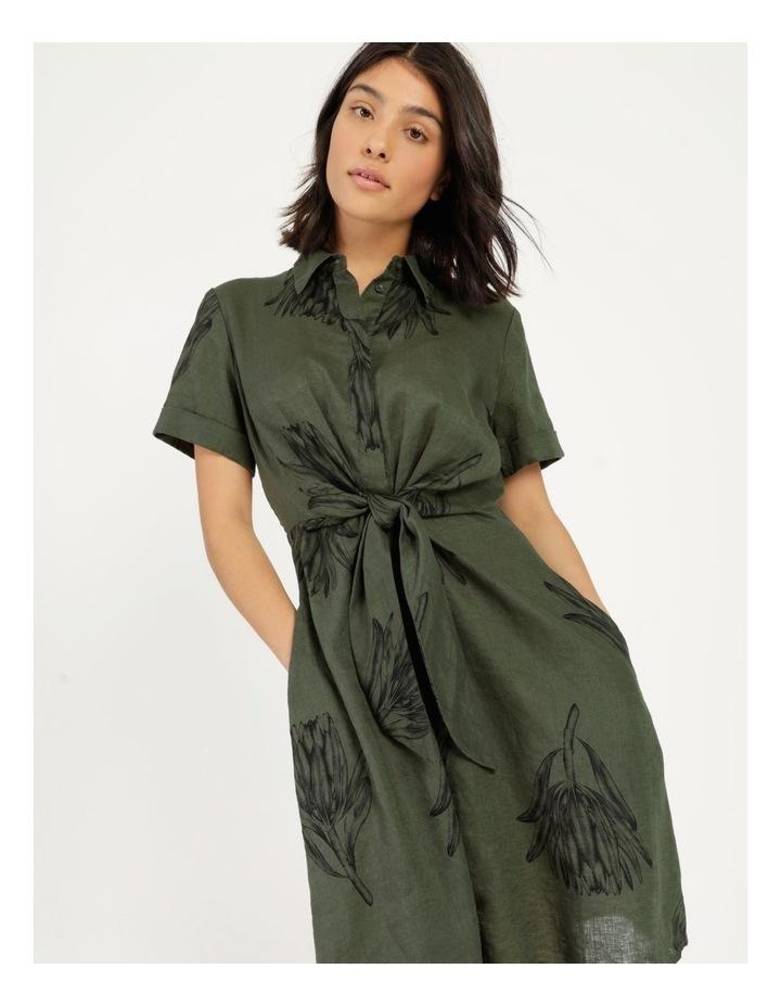 Tie Front Linen Dress image 5