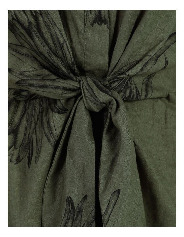 Tie Front Linen Dress image 7