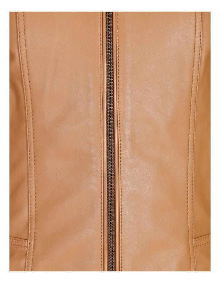 Leather Biker Jacket image 6