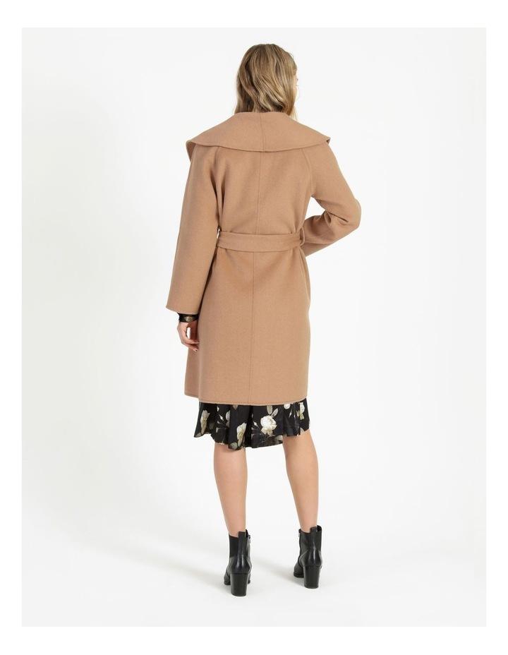 Wrap Shawl Collar Coat image 3