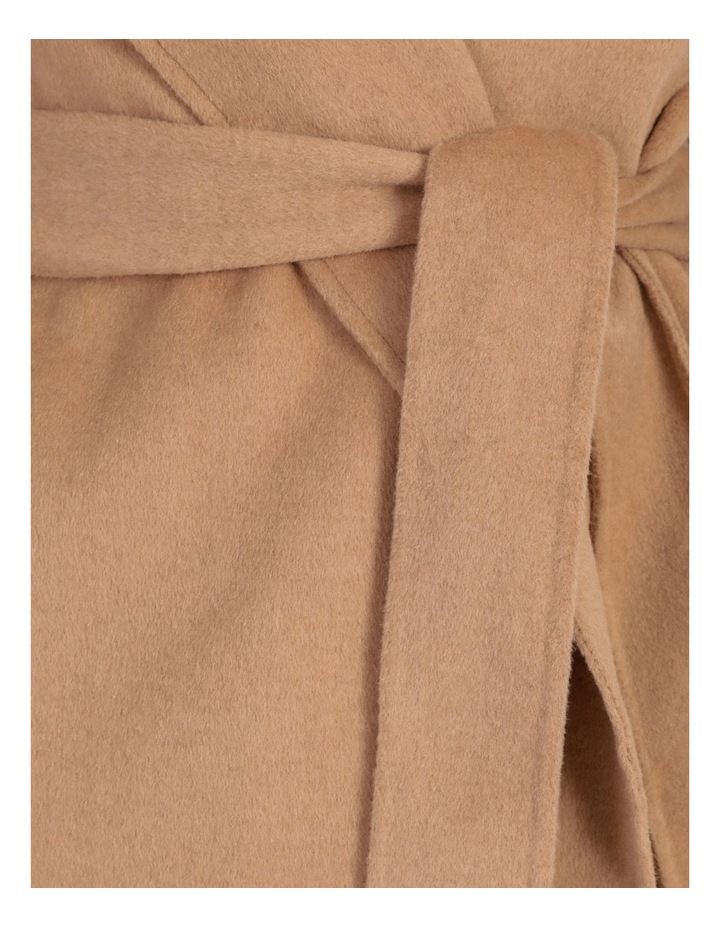 Wrap Shawl Collar Coat image 6