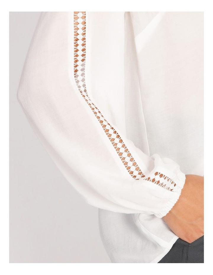 Lace Trim Blouse image 4