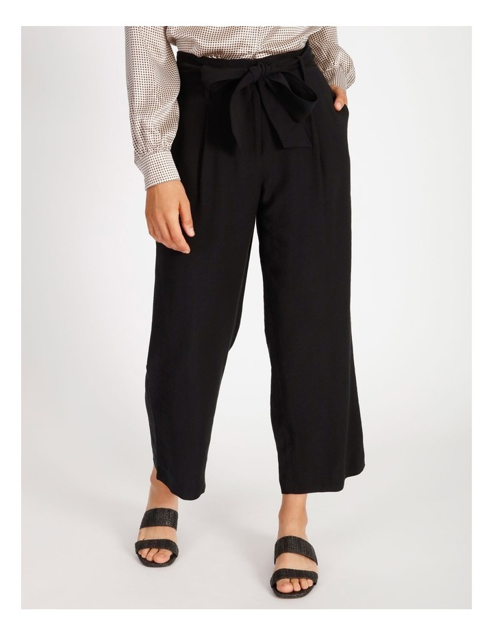High Waist Black Pant image 1