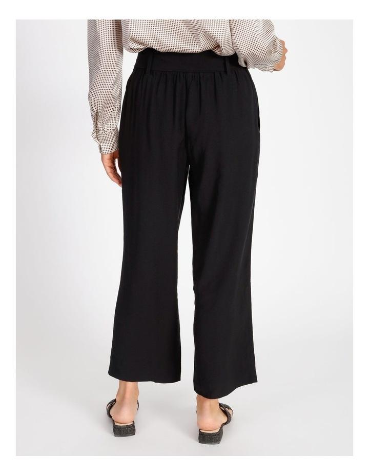 High Waist Black Pant image 3