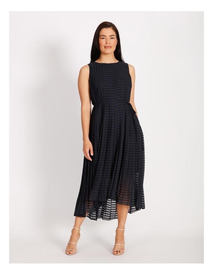 Pleated Trapeze Dress image 1