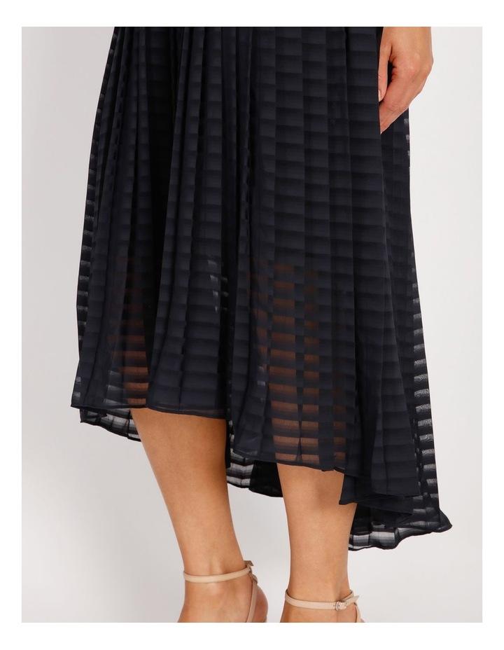 Pleated Trapeze Dress image 5