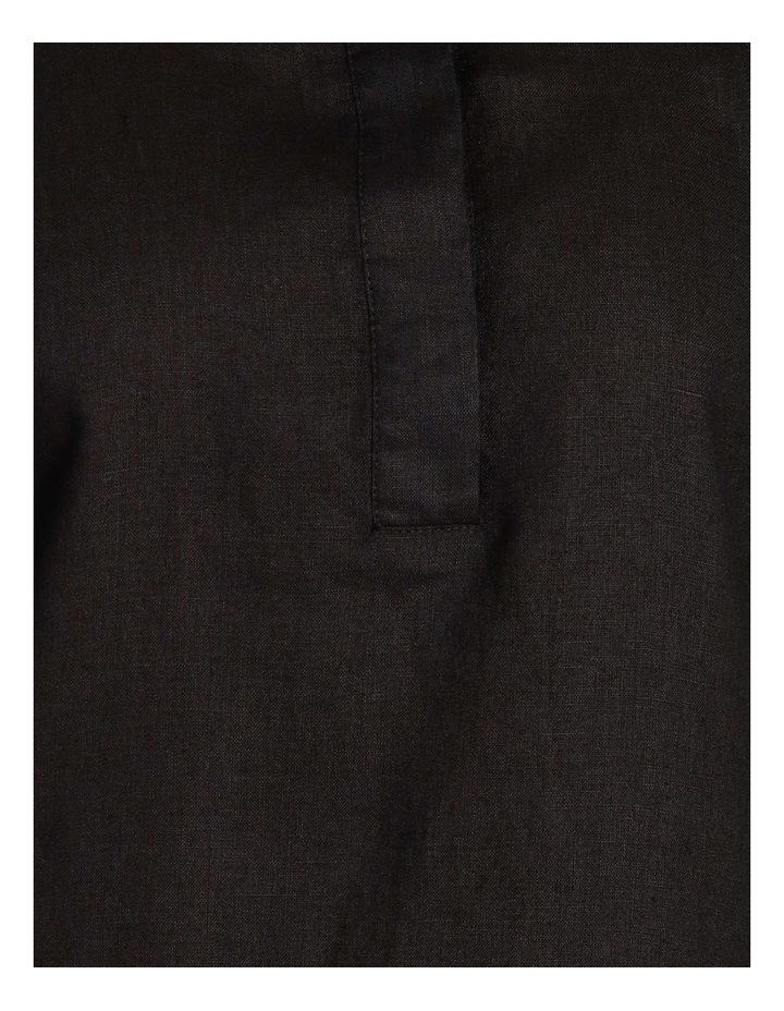 Linen Shirt Dress image 5