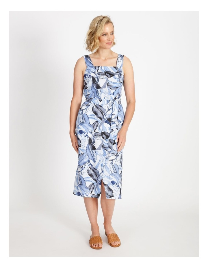 Palm Print Dress image 1