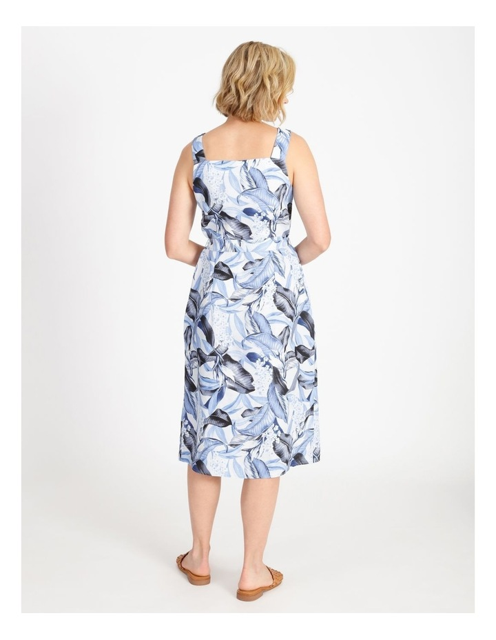 Palm Print Dress image 3