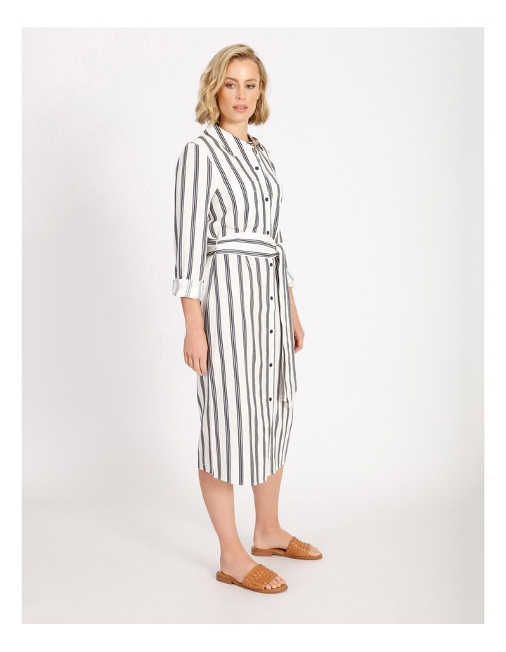 Stripe Shirt Dress image 2