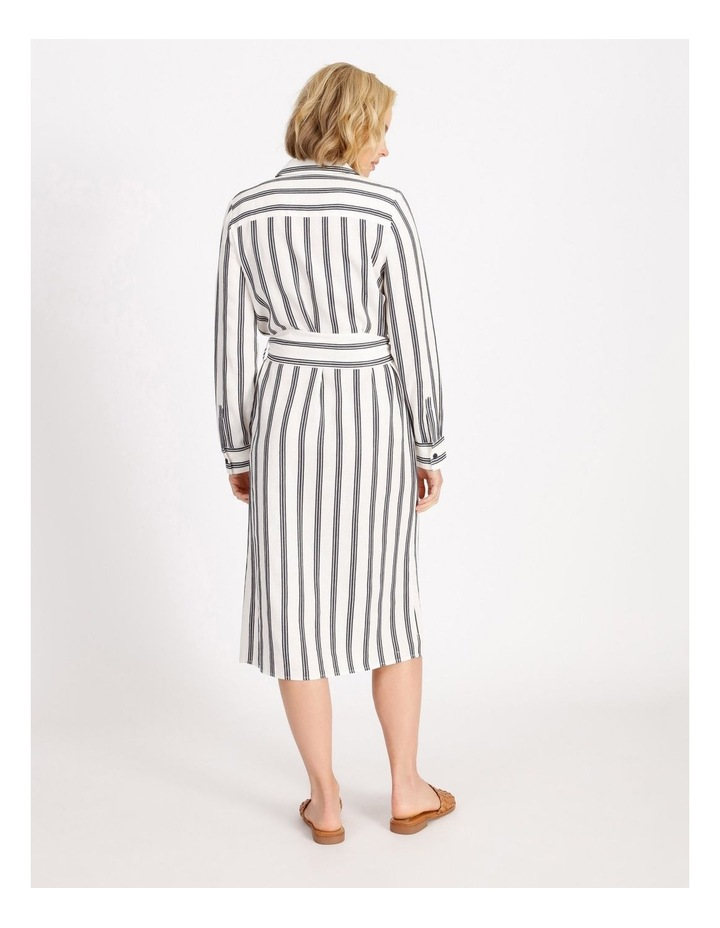 Stripe Shirt Dress image 3