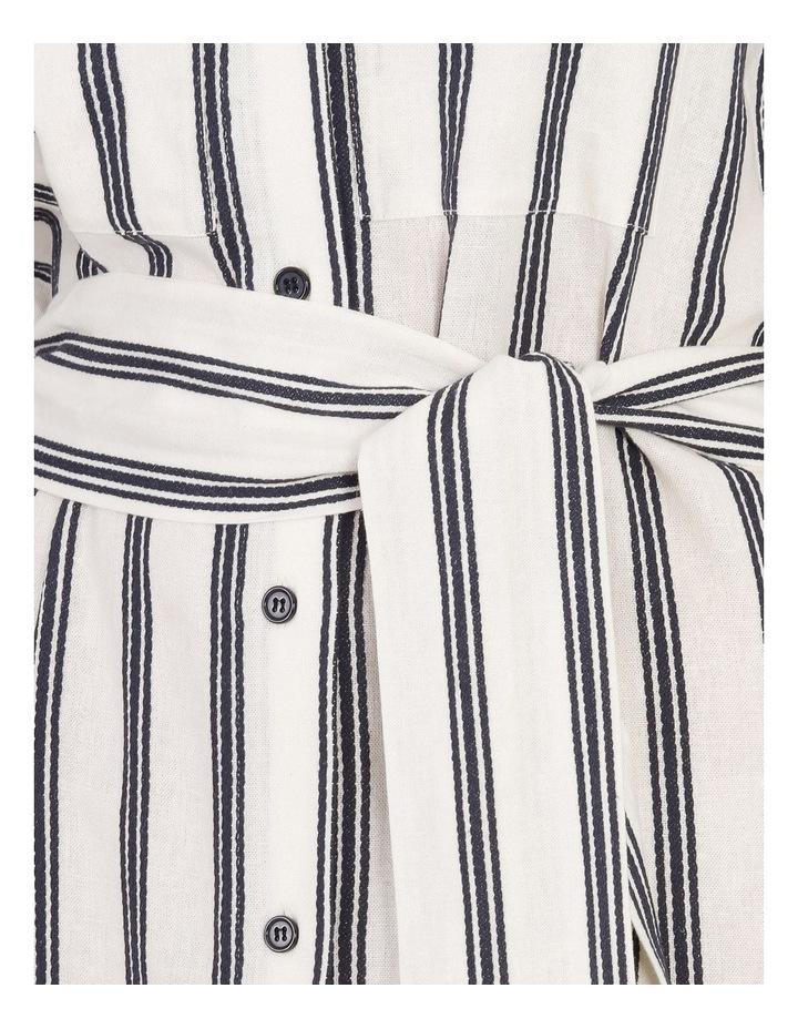 Stripe Shirt Dress image 5