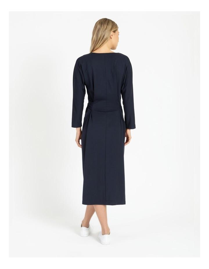 Dolman Sleeve Self Tie Dress image 2