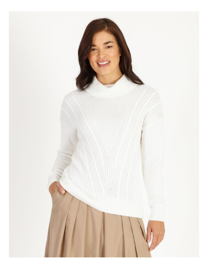 Cable Knit Jumper image 1