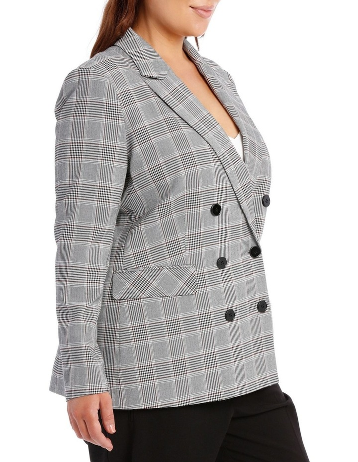 Double Breasted Check Blazer image 2