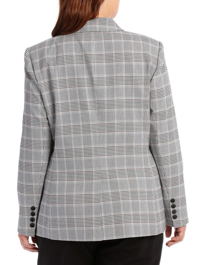 Double Breasted Check Blazer image 3