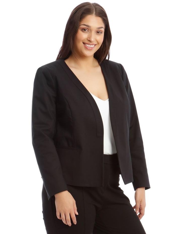 Olivia Cotton Sateen Jacket image 2