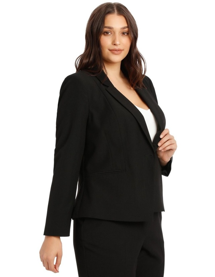 Essential One Button Suit Jacket image 2