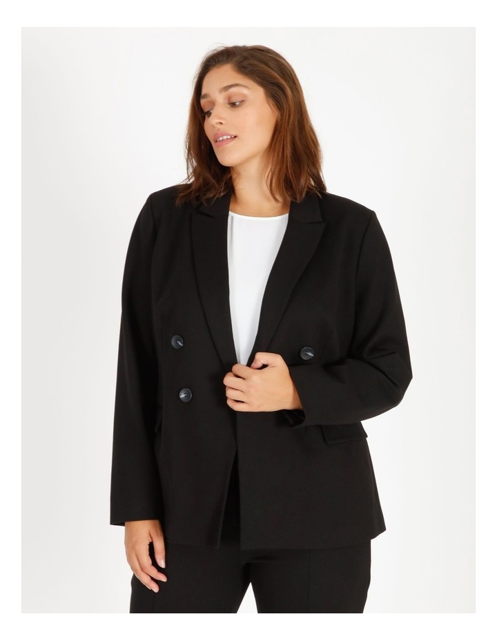 Ponte Double Breasted Blazer image 1