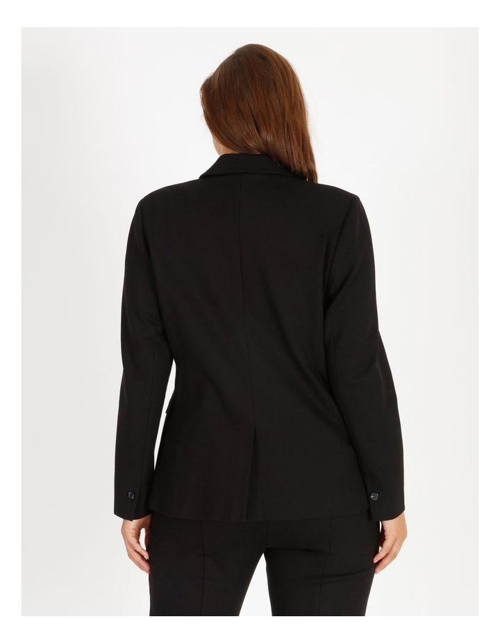Ponte Double Breasted Blazer image 3