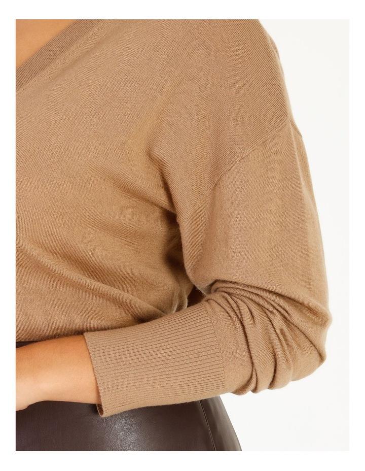 Merino Wool V-Neck Jumper image 4
