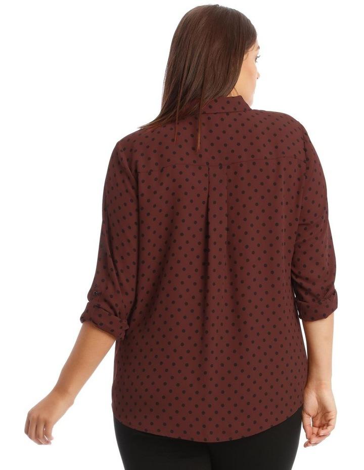 Double Pocket Shirt with Polkadots image 3