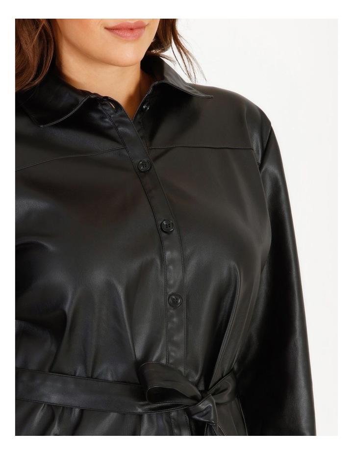 Vegan Leather Shirt image 5