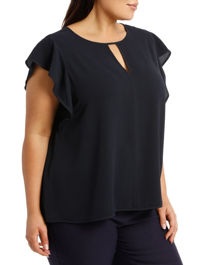 Must Have Crepe Frill Top image 2