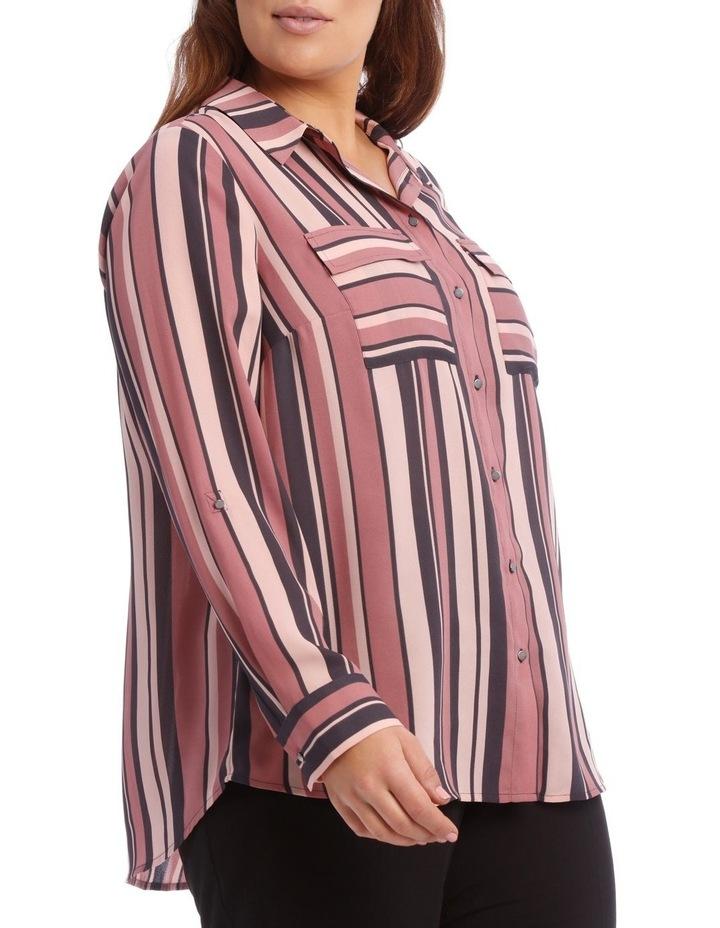 Double Pocket Soft Shirt Print image 4