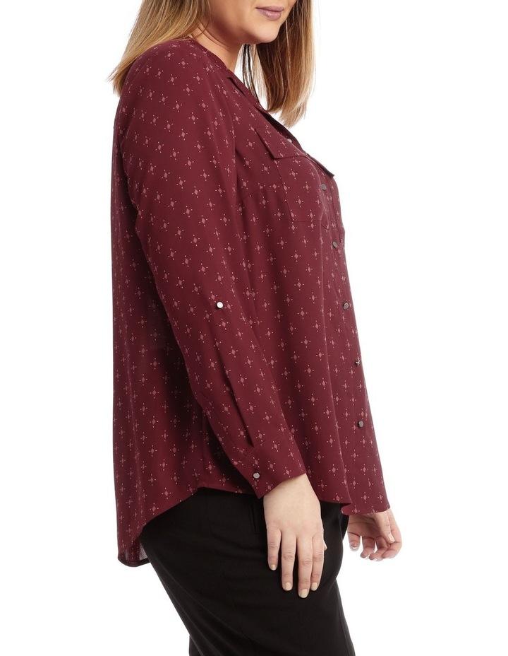 Double Pocket Soft Shirt Print image 2