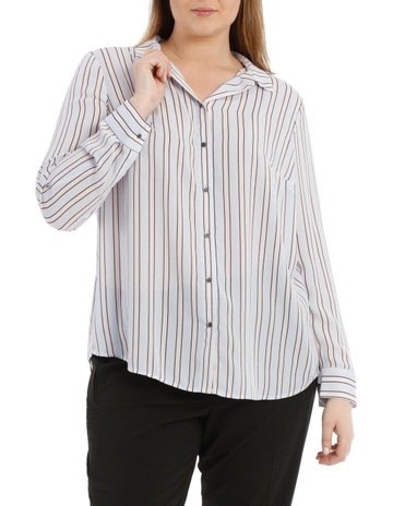 043f8ff5076a48 Basque Woman Double Pocket Soft Shirt Print