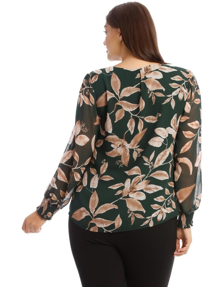 Sheer Long-Sleeve Blouse image 3