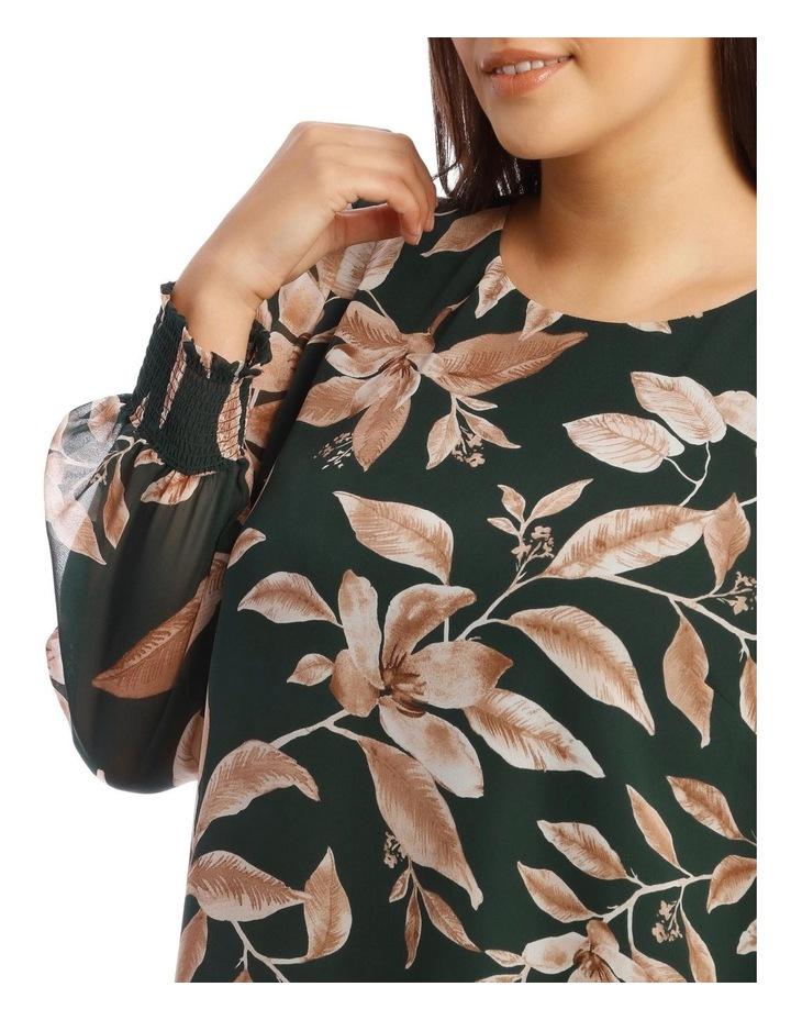 Sheer Long-Sleeve Blouse image 4