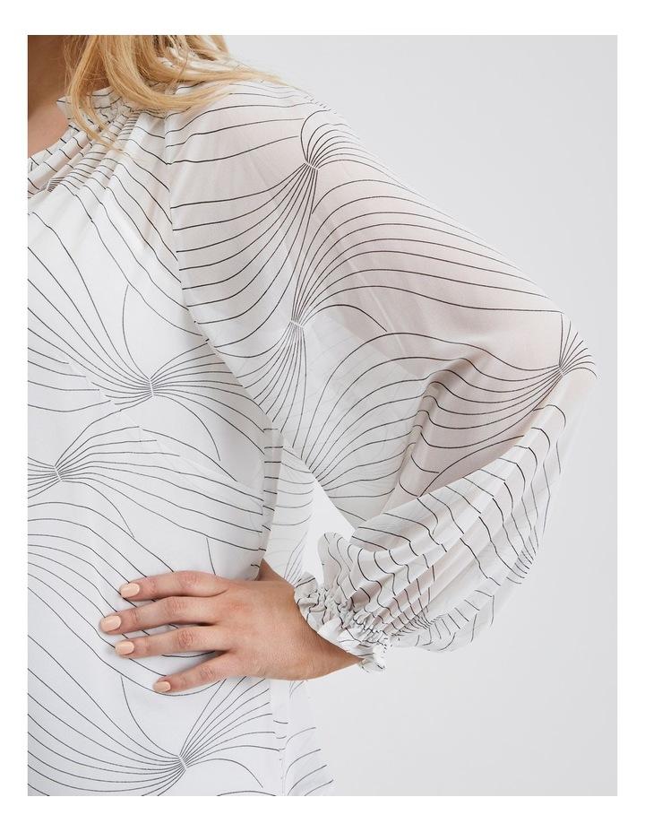 Georgette Long Sleeve Top image 5