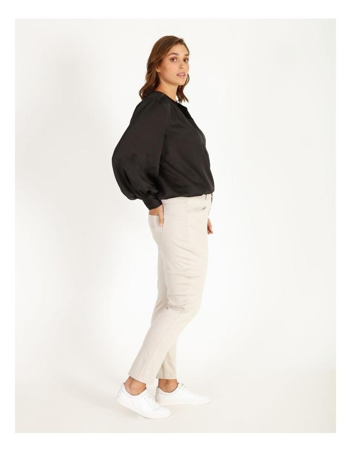 Satin Long Sleeve Blouse image 2