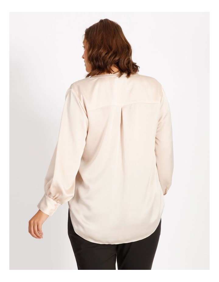 Satin Long Sleeve Blouse image 3